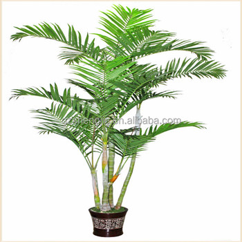 China Making Artificial Bamboo Palm Plant Tree Office