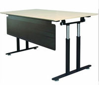 Morden cheap office furniture flipping desk training table