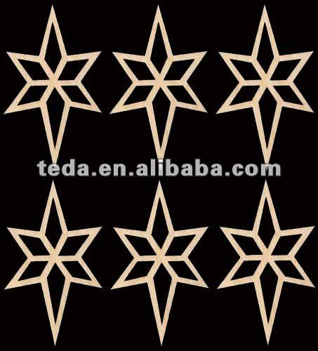 Five-pointed star Chrismas ornament