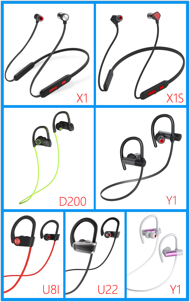 High quality support smartphone visible wireless Sport headset hot sale in Alibaba com