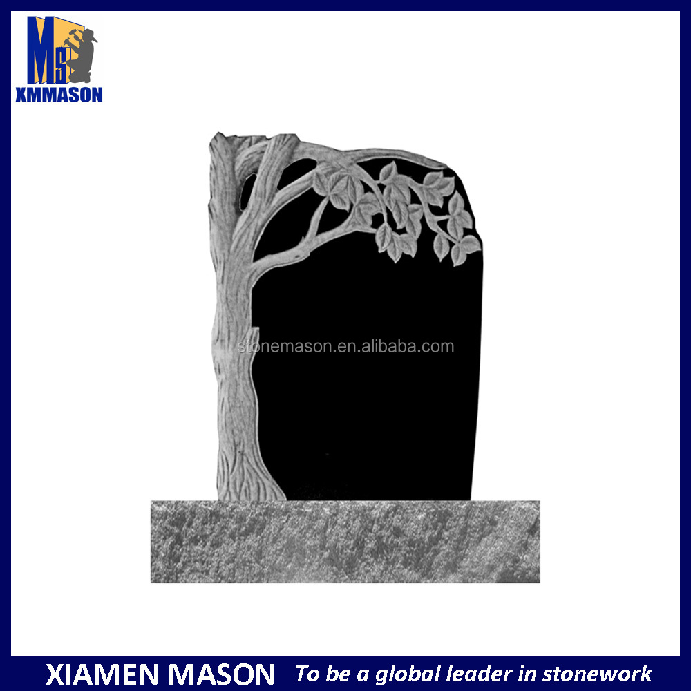 Cheap Tree Carving styles Headstone With Customized