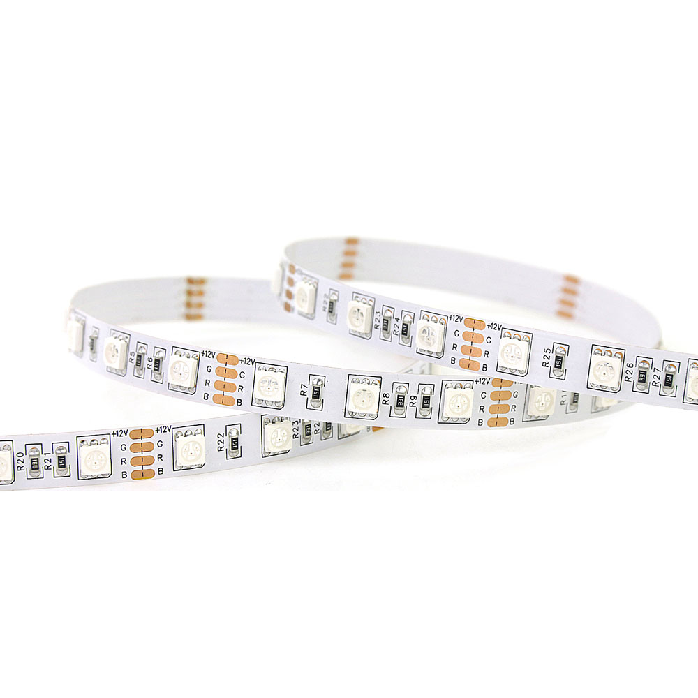 Mul-ti Color Low Cost changeable RGB 5050 SMD LED Strip Light