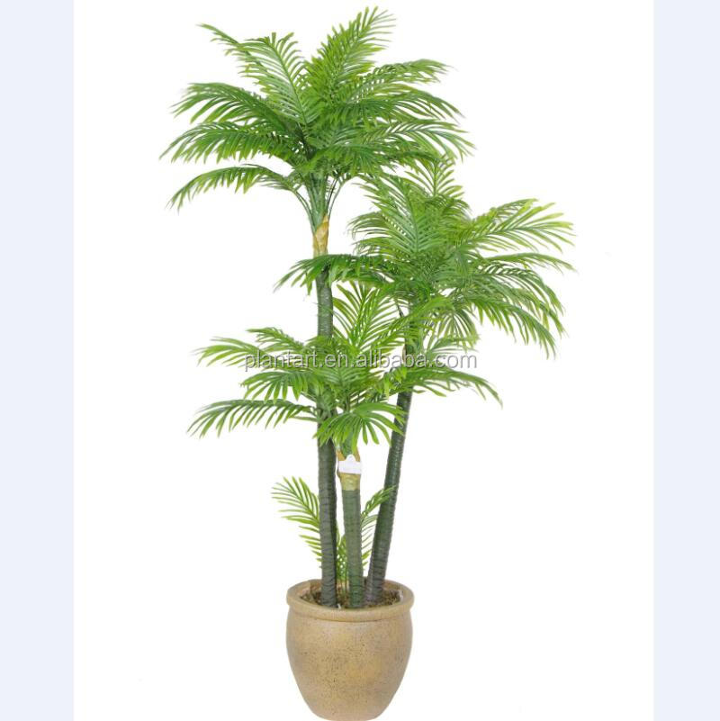 Artificial large plants of artificial palm tree plants 180cm/6ft for indoor