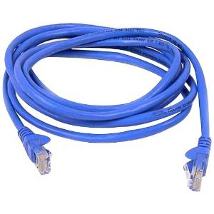"""Belkin, Patch Cable Rj-45 (M) Rj-45 (M) 14 Ft Utp Cat 5E Snagless Blue B2b For Omniview Smb 1X16, Smb 1X8, Omniview Smb Cat5 Kvm Switch """"Product Category: Supplies & Accessories/Network Cables"""""""