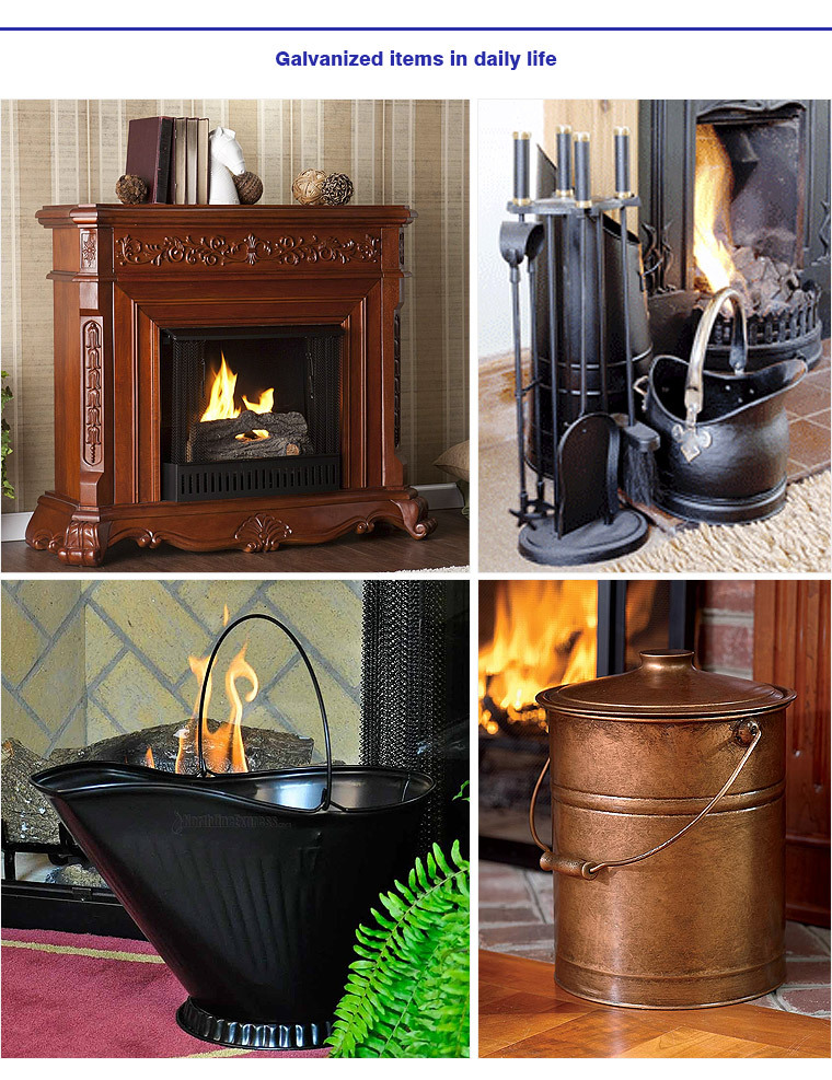Fireplace Decorative Tools Black Iron Coal Bucket And Shovel - Buy ...