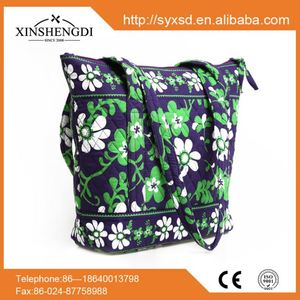 New design cotton bright quilted fashion beach handbags dropshipping