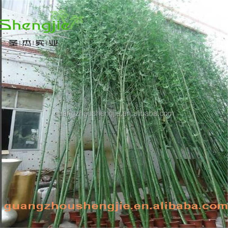 Sjlj013369 artificielle plante de bambou faux en plastique for Bambou en plastique