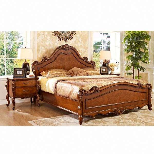 Alibaba China Latest Classic Design Wooden Bed - Buy Alibaba China