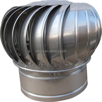 300mm Industrial Turbine Roof Adjustable Air Extractor
