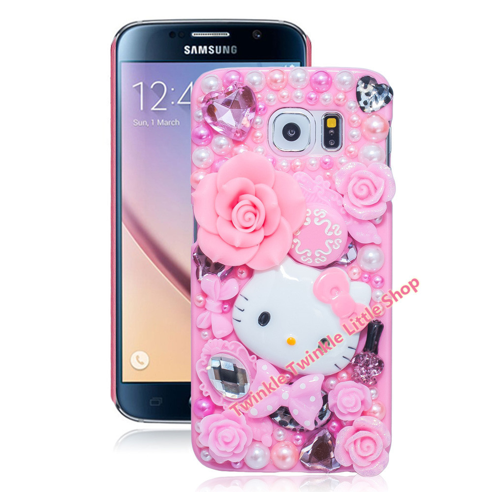 New Hot Cute Hello Kitty Case Crystal Plastic Case For ...