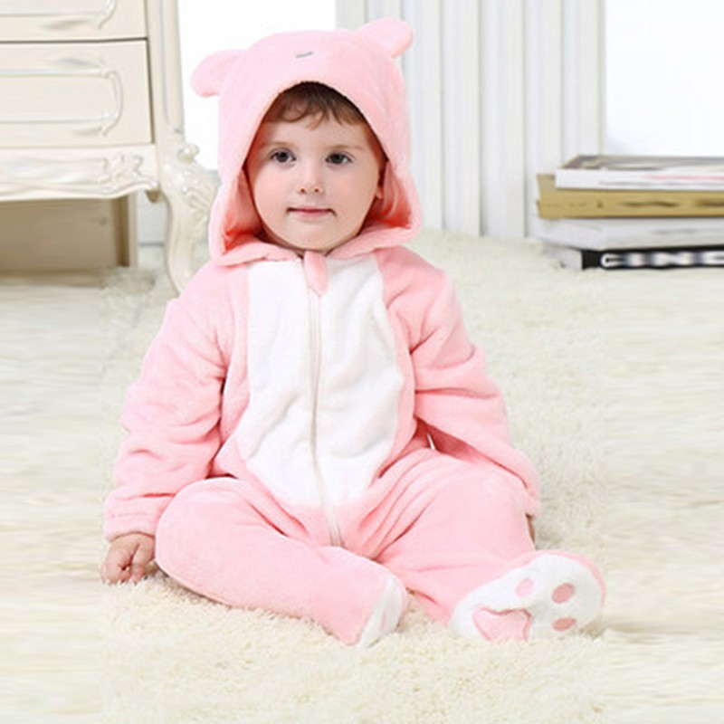545ca2007 Wholesale Winter Baby Clothes Fashionable Bear Pattern Long Sleeves ...