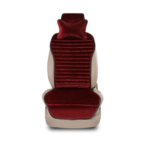 Fashion wine-red seat cover for car decoration