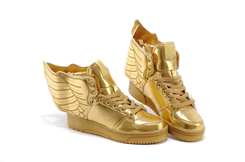 White And Gold Prom Shoes