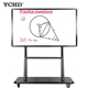 86inch cheap Interactive TV Touch Screen Whiteboard All In One PC For meeting Teaching