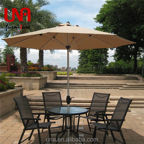 Commercial solar outdoor beer umbrella table parasol