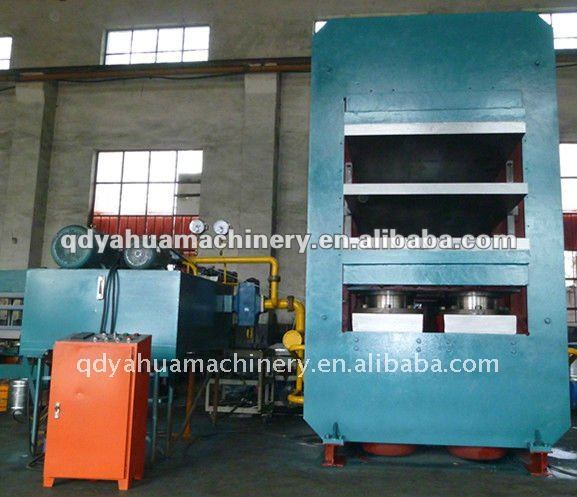 Large Duty Hydraulic Press/Rubber Vulcanizer/Conveyor Belt Vulcanizing Press with big plate size and high pressure