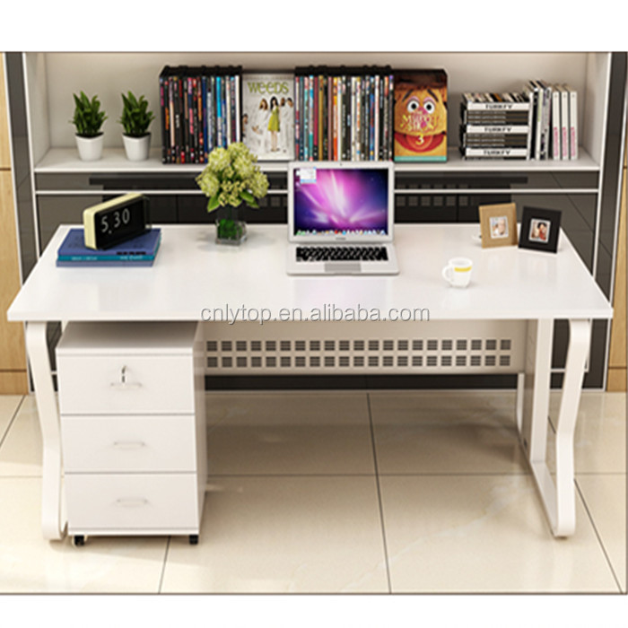 Double Sided Office Desk With Drawers Double Sided Office Desk With