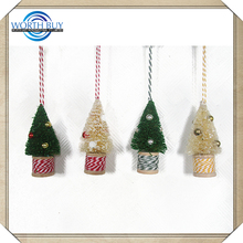 Alibaba China Supplier desk christmas tree ornament spinners