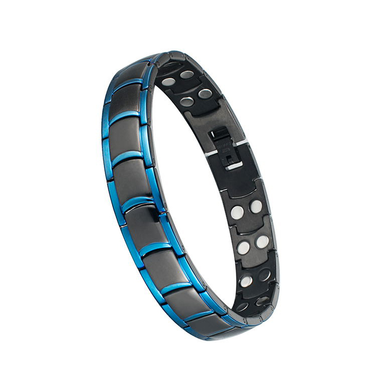 Customize Personalized medical Diabetic Alert Stainless Steel All Magnetic Bracelet