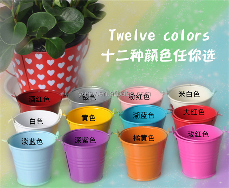 Tin Pails Wedding Favors Mini Bucket Mini Pails Tin Candy Box Favor