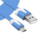 Factory Price Ultra Thin Data Cable Double Sided Micro Usb Data Cable