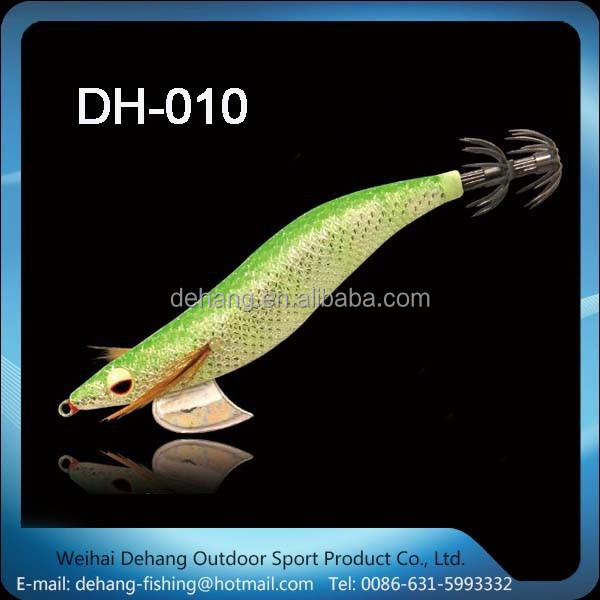 2015 Hot Sale Japanese Lunimous Squid Jig Egi