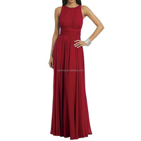 Long Chiffon Cheap Bridesmaid Dresses 2017 Wedding Guest Dresses