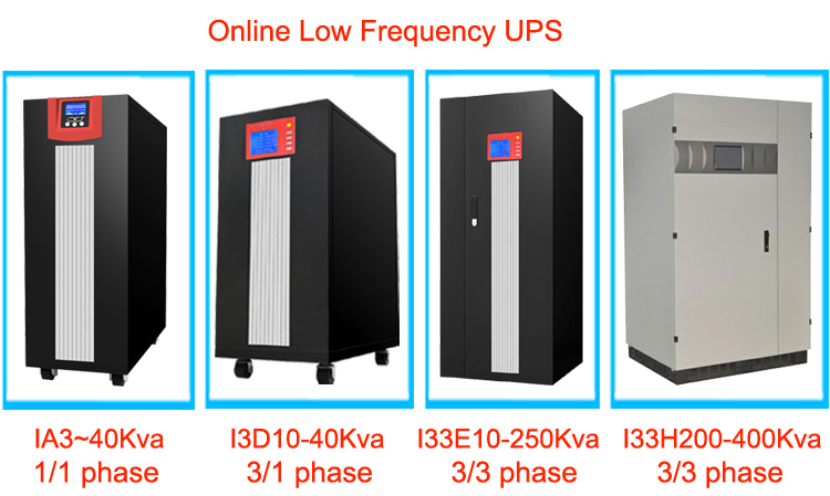380V 220V 3 phase in 1 phase out online low frequency UPS 10000VA 8000W
