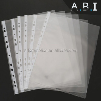 Hot Sales Office 11 Holes A4 Paper Sheet Protector Buy