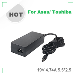 90W Power Adapter 19.5V 4.62A 7.4*5.0MM IC Charger Laptop for Vostro 1400/Latitude D610/Ins14V-488