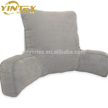 Yintex High Quality Bed Reading Cushion With Arm Support Watch Tv Chair Rest Pillow