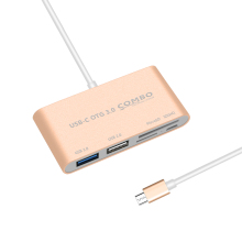 5 in 1USB C Hub OTG USB 3.0 2 port USB otg usb hub for Macbook Air Pro