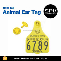 Long Range UHF AlienH3 RFID Animal Ear Tag