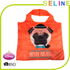 2015 Fashion new design reusable promotional folding nylon bag