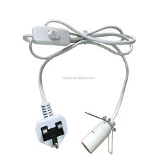 BS certficated cord set e14 pendant lamp cord