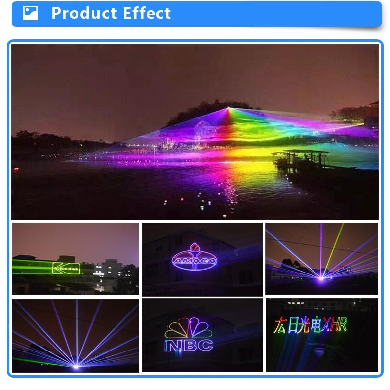 Waterproof Outdoor Landmark Laser Light Text Laser