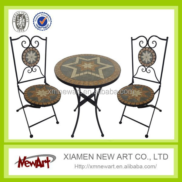 outdoor furniture cheap price China manufacturer metal table outdoor furniture used patio furniture garden ornement