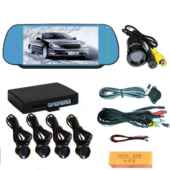 7 inch TFT Monitor with Parking Sensor and Camera(FACTORY)
