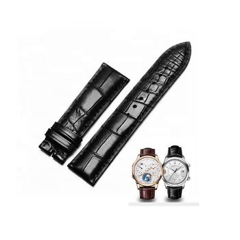 Premium Quality Genuine Crocodile Leather Watch Strap