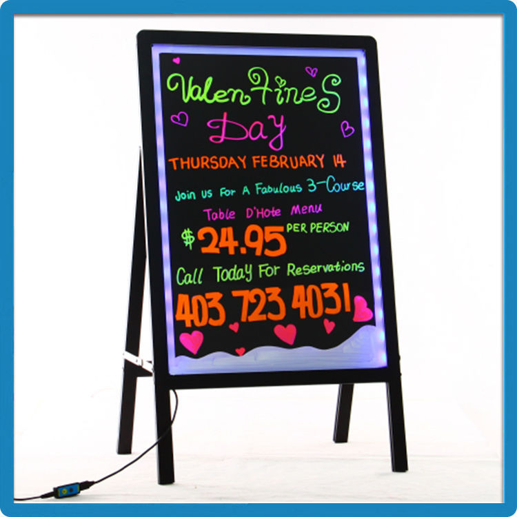 Best Selling Advertising Led Open Signs With Remote Aluminum Alloy ...