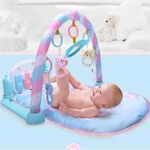 <span class=keywords><strong>Prime</strong></span> kwaliteit baby speelkleed gym met cartoon musical piano baby gym <span class=keywords><strong>mat</strong></span>