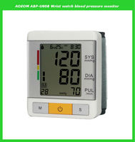 Automatic wrist blood pressure monitor watch