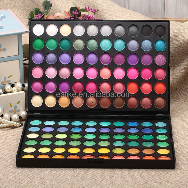 New style muti color 120 manly eyeshadow palette