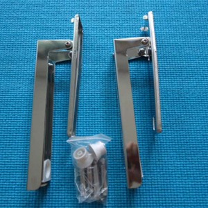 304 stainless steel foldable microwave oven wall brackets