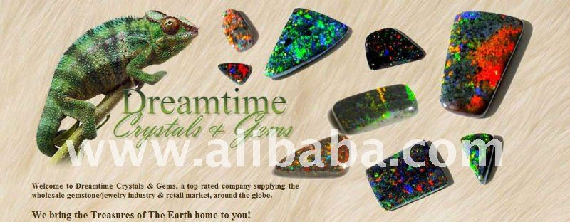 Australian Crystal, Black & Matrix Opals & More