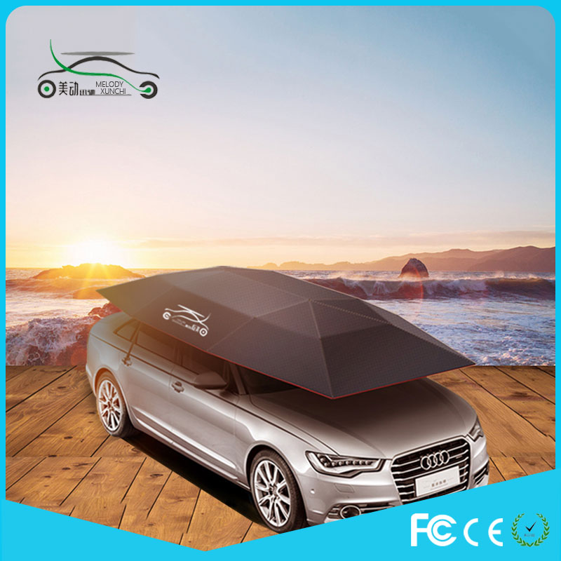 Promotion Nylon portable uv protection high quality car cover