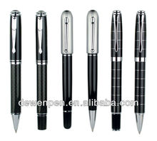 high quality dewen promotional metal ball pens,parker pen