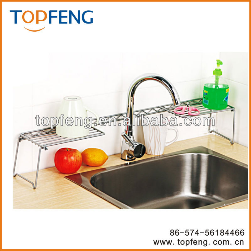 Expandable Over The Kitchen Sink Shelf