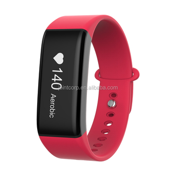 Bluetooth Rechargeable Smart Fitness Tracker Watch IP67