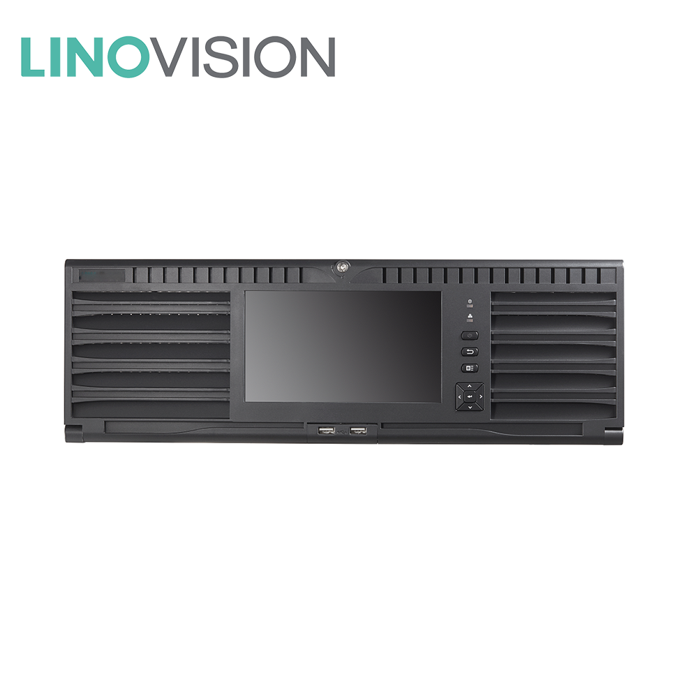 DS-96256NI-I16 Hikvision 256CH 2HDMI Output Super 4K NVR Recorder, Support Hot Plug and RAID Hot Swap